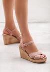 Różowe Sandały Marketeer