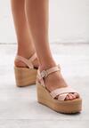 Różowe Sandały Biomimetics