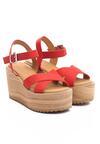 Czerwone Sandały Biomimetics