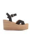 Czarne Sandały Biomimetics