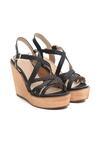Czarne Sandały Beauteousness