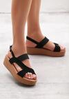 Czarne Sandały Resplendence