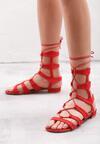 Czerwone Sandały Beautydom