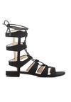 Czarne Sandały Beautydom