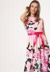 Jasnopomarańczowa Sukienka Nailed Down