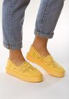 Żółte Slip On Beam