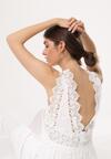 Biała Sukienka Electromagnetic