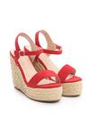 Czerwone Sandały Congruity
