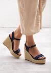 Niebieskie Sandały Congruity