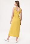 Żółta Sukienka Strathspey