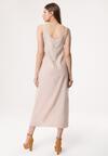 Beżowa Sukienka Strathspey