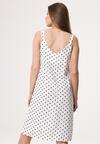 Biała Sukienka Dismalness