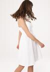 Biała Sukienka Chasse