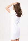 Biała Sukienka One Heart