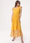 Żółta Sukienka Busticate