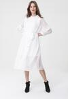 Biała Sukienka Ferrous