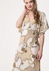 Beżowa Sukienka Correctable