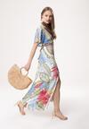 Jasnoniebieska Sukienka Vallenato