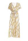 Biała Sukienka Hyporchema