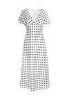 Biała Sukienka Smilingly