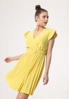 Żółta Sukienka Blot
