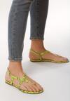 Zielone Sandały Decorum