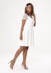 Biała Sukienka Former