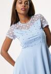 Niebieska Sukienka Former