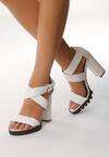 Białe Sandały Step Into
