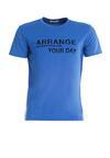 Niebieska Koszulka Arrange
