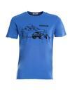 Niebieska Koszulka Reticence