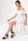 Biała Sukienka Dame