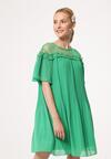 Zielona Sukienka Rely On Me