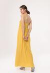 Żółta Sukienka Relies