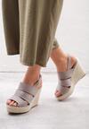 Szare Sandały Convulse