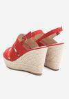 Czerwone Sandały Convulse