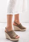 Khaki Sandały Convulse