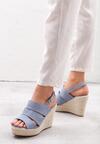 Niebieskie Sandały Convulse