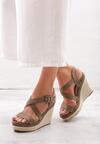 Zielone Sandały Foment