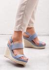 Niebieskie Sandały Brigandage