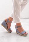 Niebieskie Sandały Paralyze