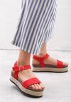 Czerwone Sandały Forty