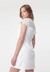 Biała Sukienka Betrust