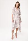 Biała Sukienka Faithed