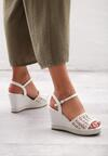 Białe Sandały Hamper