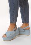 Niebieskie Sandały Sweltry