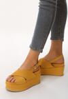 Żółte Sandały Sweltry