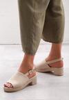 Beżowe Sandały Kicks