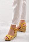 Żółte Sandały Hinderance