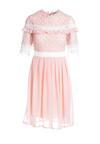 Różowa Sukienka Overcompensate